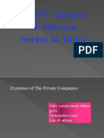 SWOT+Analysis+of+Telecom+Sector+in+India