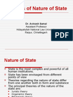 6. Nature of State