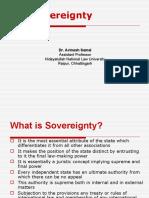 8. Soverreignty