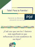 Taller  para la familia I (1)