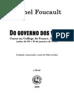 FOUCAULT, Michel. Do governo dos vivos.pdf