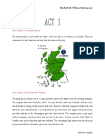 Macbeth Synopsis (Act)