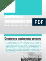 Conflictos y movimientos sociales