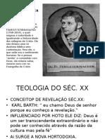 INTRODUCAO A TEOLOGIA - Aula on-line-25-03-2020