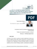Analisis de la Normativa Administrativa en Relacion a la Aplicabilidad del Art.24 Transitorio de la Reforma Tributaria