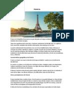 FRANCIA, clima, paisajes, población