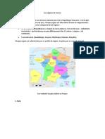 Les régions de France