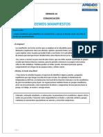 SEMANA 14 - 15 comunicacion