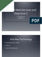 webserviceswithobjc