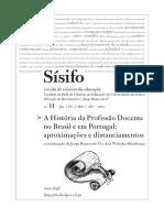 Historia da profissao docente no Brasil
