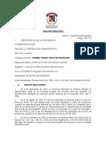 ANALISIS EJECUTIVO SENTENCIA  ACCION DE NULIDAD y REESTABLECIMIENTO