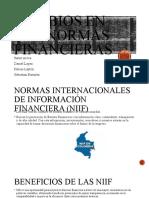 CAMBIO EN LAS NORMAS FINANCIERAS