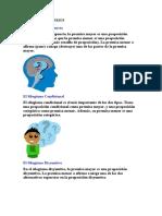 TIPOS DE SILOGISMOS