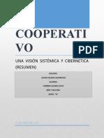 DERECHO COOPERATIVO- ideas resumen