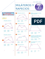Tema 24 Geometría - Cuadriláteros y Trapecios