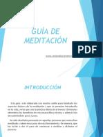 GUÍA DE MEDITACIÓN.