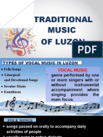 Traditional Music of Luzon.pptx