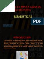ACCIDENTES  EN MINA A CAUSA DE LOS EXPLOSIVOS