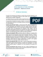 Componente 2 - Sector Hortícola