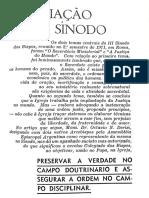Apreciação do lll Sínodo - Octávio Derisi