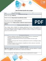 Formato - descripción de cargos John Ramos