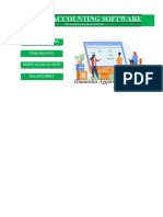 Accounting Software in Excel