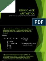 REPASO 4 DE ARITMÉTICAppt