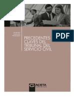(GACETA JURÍDICA) Alejandro Navarrete Maldonado - PRECEDENTES CLAVES DEL TRIBUNAL DEL SERVICIO CIVIL (Junio 2017)