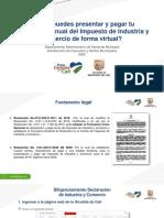 Manual presentación y pago virtual ICA 2020.pdf
