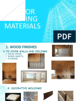 interior and exterior materials