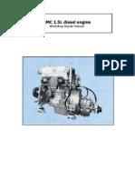 Bmc Leyland 1500L Diesel Workshop Manual