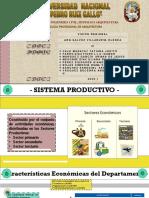SISTEMA PRODUCTIVO y PATRIMONIAL
