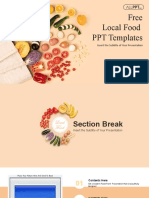 Local Food PowerPoint Templates