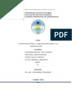 Distinción entre dirección estratégica y administración culminado.docx