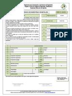 Formulario Envio de muestras