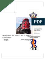 Organismos en México en el Ambito Ferroviario - Ivan Godinez