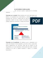 TIPOS DE DISEÑO CURRICULAR