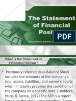 Lesson 1 Statement of Financial Position