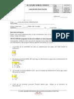 2. Evaluación de competencias analistas de laboratorio GDA 2020
