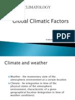 01 Global climatic factors
