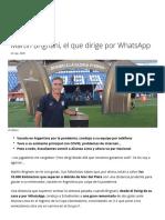 Bienvenidos al Centro de Noticias de FIFA.com - Martín Brignani, el que dirige por WhatsApp - FIFA.com.pdf