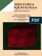 Prehistoria y Arqueología, Jose Luis Lorenzo.pdf