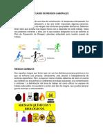 CLASES DE RIESGOS LABORALES