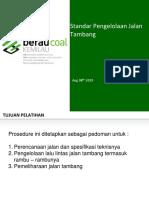 Standar Pengelolaan Jalan Tambang_190806 (Revised)