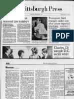 Pittsburgh Press story on Ferdinand Marcos' alleged kidney transplant