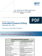Controlled Pressure Drilling