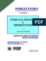 Inter Facial Phenomena in Dispersed System