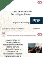 Presentación Fichero de formación tecnológica básica