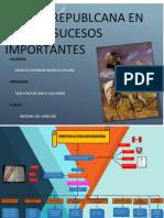 importantes acontecimientos en la vida republicana peruana