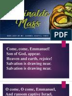 AGUINALDO MASS 6th DAY 2019.pptx